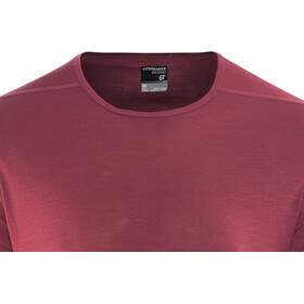 Icebreaker Zeal SS Crewe Shirt Men vintage red
